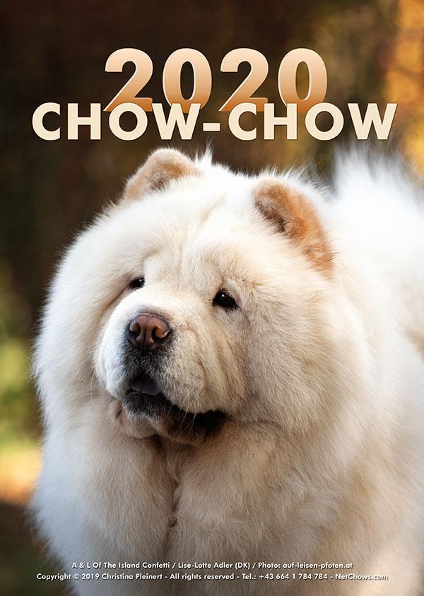 The Chow-Chow Calendar 2020