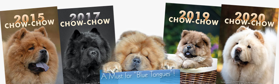 The Chow-Chow Calendar - a Must for Blue Tongues!