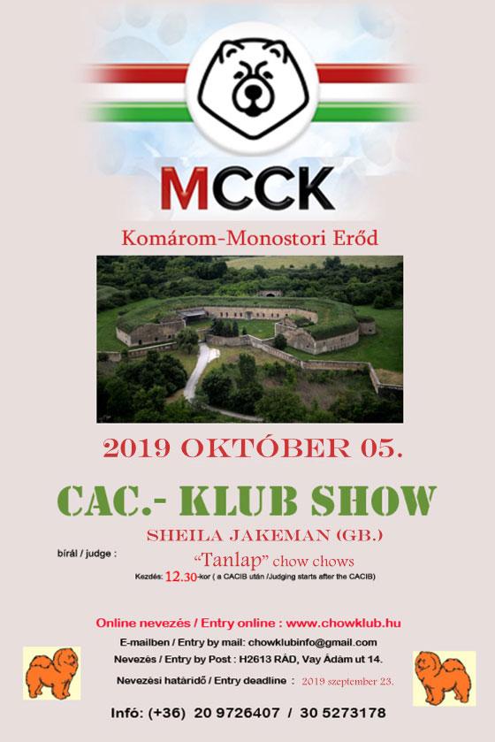 MCCK Clubshow 2019